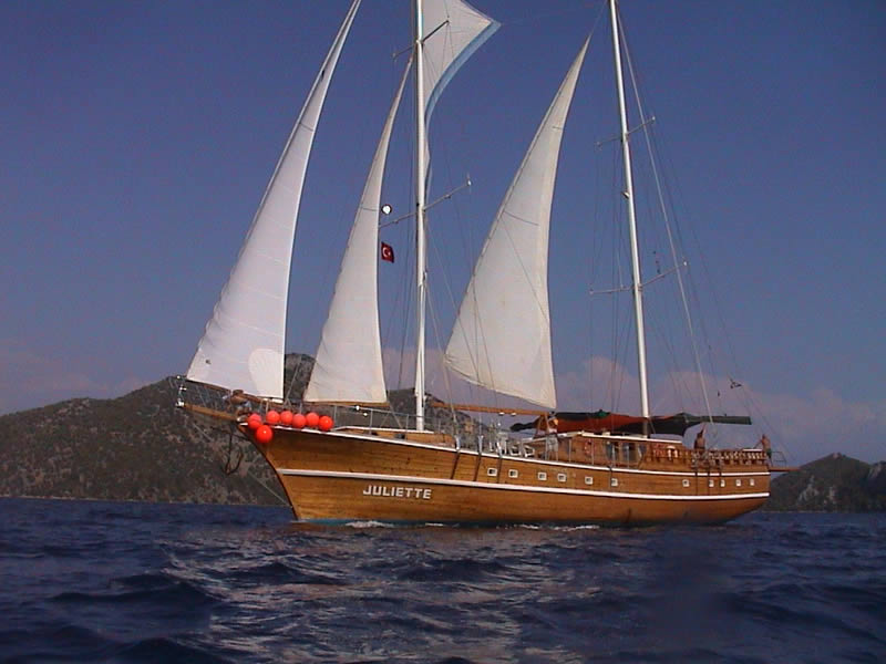 JULIETTE,STANDARD GULETS, Yachts for Rent, Yacht Charter, Yacht Rental