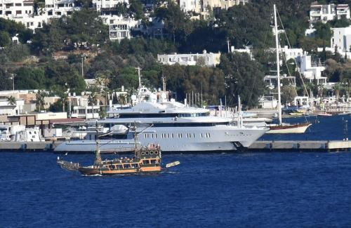 Moonlight 2, the world's most expensive yacht for rent in Bodrum