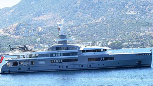 Russian billionaire in Bodrum with luxury yacht for rent
