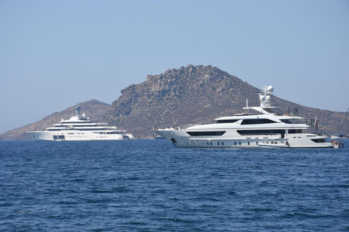 Bodrum welcomes ultra luxury yachts